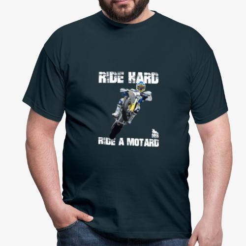 Ride Hard Ride a Motard - Maglietta da uomo
