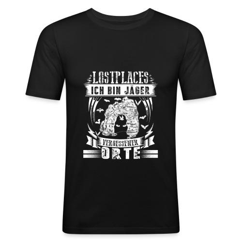 #Lostplace - Männer Slim Fit T-Shirt