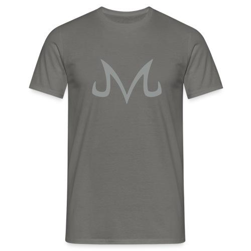 T-SHIRT MAJIIN NOIR/GRIS - T-shirt Homme