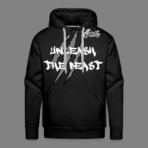 Sweat Noir - Blanc - Sweat-shirt à capuche Premium pour hommes