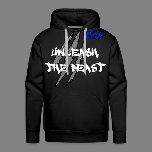 Sweat Noir - Bleu - Sweat-shirt à capuche Premium pour hommes