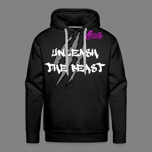 Sweat Noir - Rose - Sweat-shirt à capuche Premium pour hommes