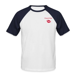 Baseball-shirt Homme collection French Kiss - T-shirt baseball manches courtes Homme