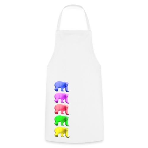 Color Ice Bear - Kochschürze - Kochschürze