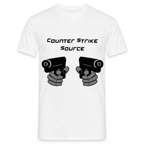 Counter Strike Source_2 - Koszulka męska