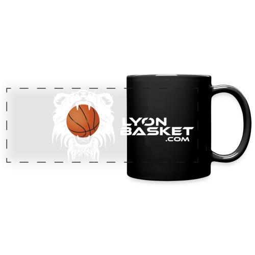 Tasse logo Lyon Basket Blanc - Mug panoramique uni