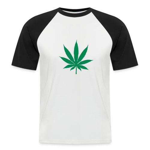 Canna - T-shirt baseball manches courtes Homme