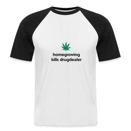 Nodrug - T-shirt baseball manches courtes Homme