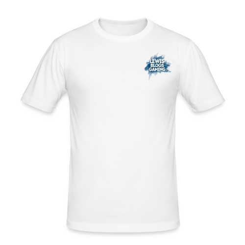 Men's Premium T-Shirt: Avatar LewisBlogsGaming - Men's Slim Fit T-Shirt