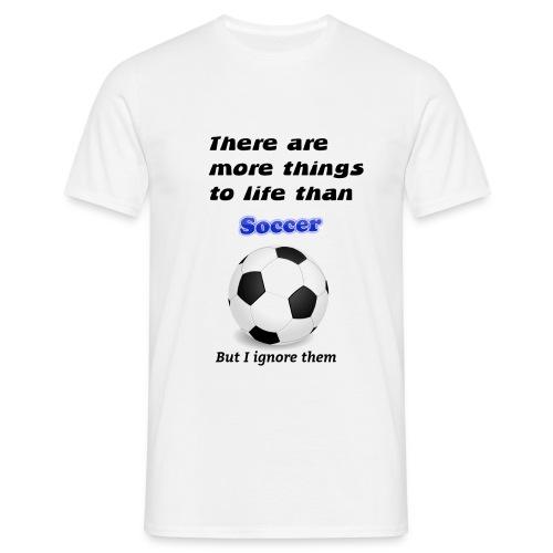 Funny Soccer Tee - Männer T-Shirt