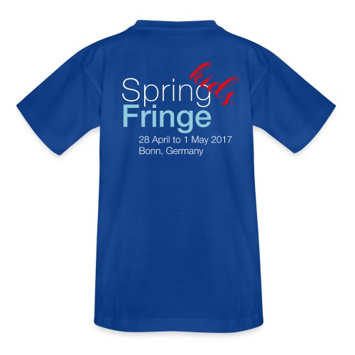 Spring Fringe Kids (large sizes) - Teenager T-Shirt