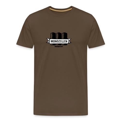 Monozellen Men's T-Shirt, Braun - Männer Premium T-Shirt