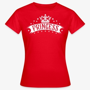 Princess Crown Stars Hearts Deluxe Geburtstag T-Shirt - Frauen T-Shirt