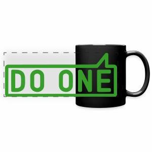 Do One, Mancunian Colour Mug - Full Color Panoramic Mug