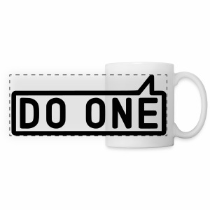 Do One, Mancunian Mug - Panoramic Mug