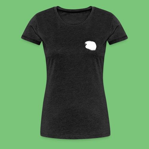 FB-Women - beidseitig Futterliste/Logo - Frauen Premium T-Shirt