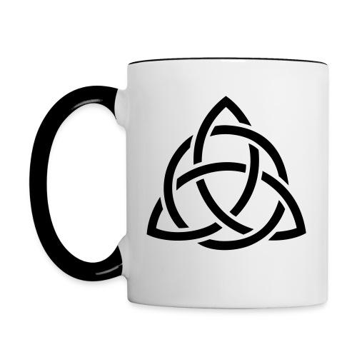 Mug motif celtique - Mug contrasté