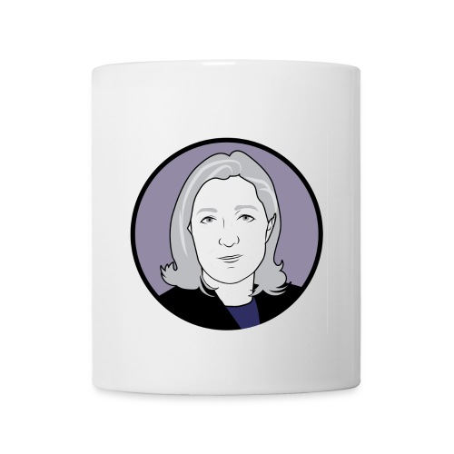 Mug Marine Le Pen - Mug blanc