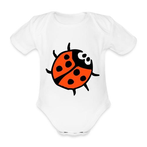 kjempetøff babybody - Økologisk kortermet baby-body
