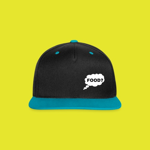 What I am thinking about - Kontrastkeps med snapback