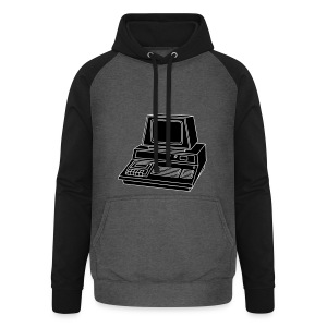Personal Computer PC 2 - Unisex Baseball Hoodie
