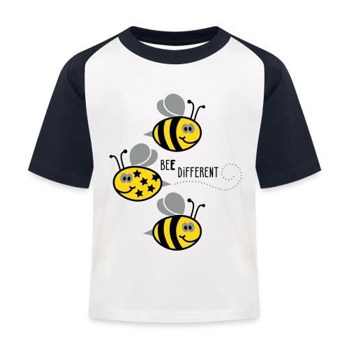 Bee different - Kinderen baseball T-shirt