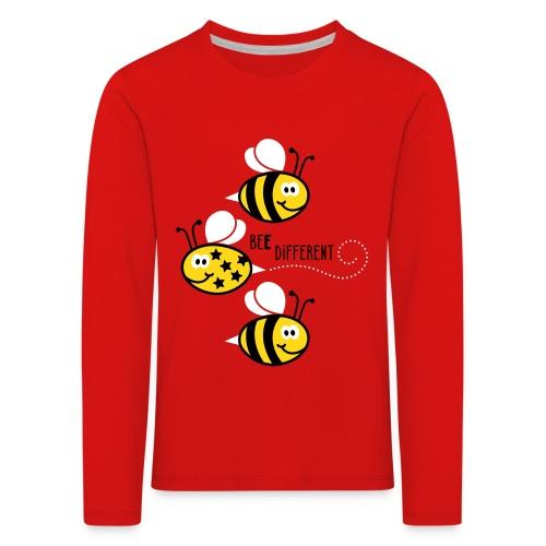 Bee different - Kinderen Premium shirt met lange mouwen