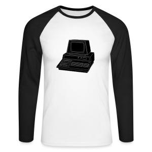 Personal Computer PC 2 - Männer Baseballshirt langarm