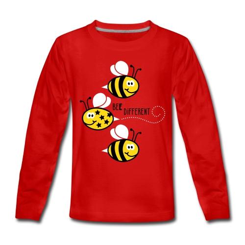 Bee different - Teenager Premium shirt met lange mouwen