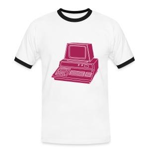 Personal Computer PC 2 - Männer Kontrast-T-Shirt