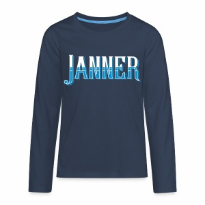 Janner, Devon Teenager's Long Sleeve T-Shirt - Teenagers' Premium Longsleeve Shirt