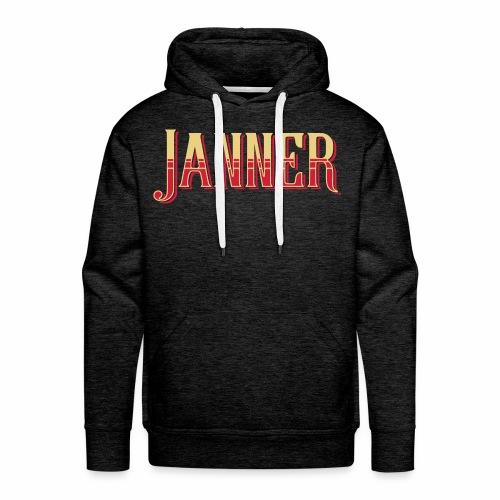 Janner, Devon, Men's Hoodie - Men's Premium Hoodie