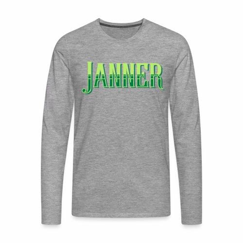 Janner, Devon, Men's Long Sleeve T-Shirt - Men's Premium Longsleeve Shirt