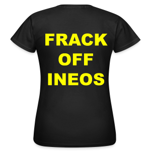 Women's Anti Fracking T-Shirt - Women's T-Shirt