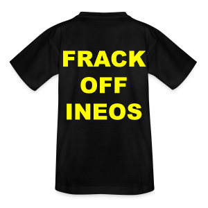 Kid's Anti Fracking T-Shirt - Kids' T-Shirt