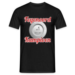 Feyenoord Kampioen 2016-2017 - Mannen T-shirt