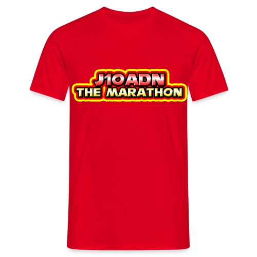 J10adn The Marathon T-shirt without Characters Male T-Shirt - Men's T-Shirt