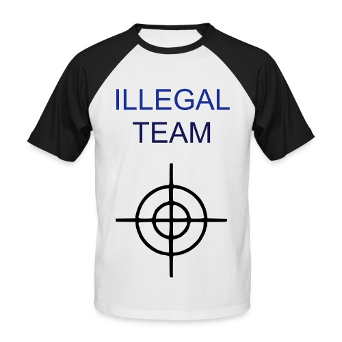illegal - T-shirt baseball manches courtes Homme