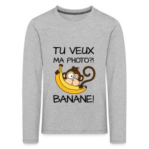 Singe, Tu Veux Ma Photo?! Banane!