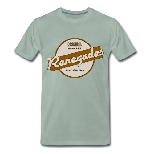 Männer T-Shirt Retro 2.0 mit Rückenlogo Hunchback Girl - Männer Premium T-Shirt