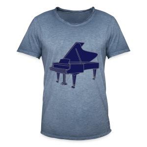 Klavier Konzertflügel 2 - Männer Vintage T-Shirt
