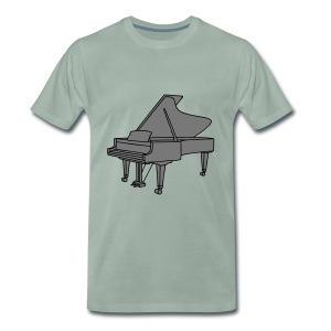 Klavier Konzertflügel 2 - Männer Premium T-Shirt