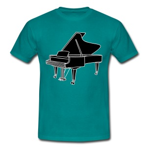 Klavier Konzertflügel 2 - Männer T-Shirt