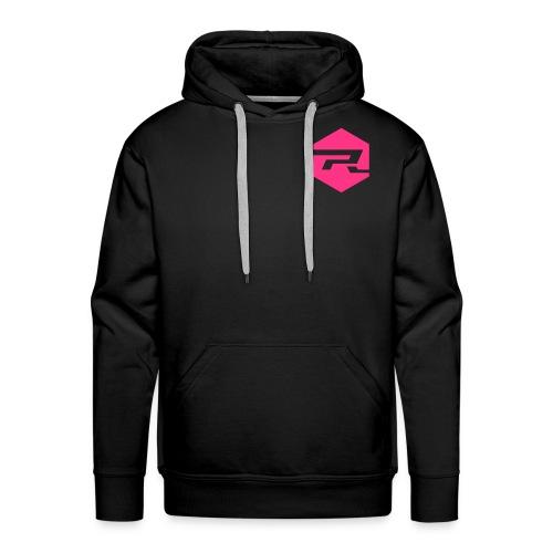 ProRider Hoodie Classic - Druck Pink - Männer Premium Hoodie