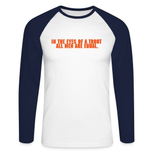 Shirt - In the eyes... - Männer Baseballshirt langarm