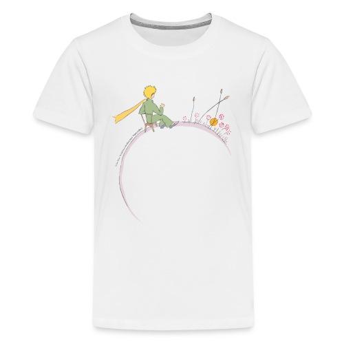 Kleiner Prinz schaut zum Sonnenaufgang - Teenager Premium T-Shirt