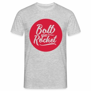 Bolt Ya Rocket Men's T-Shirt - Men's T-Shirt