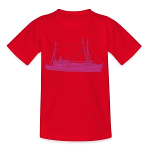 Fischerboot 2 - Kinder T-Shirt