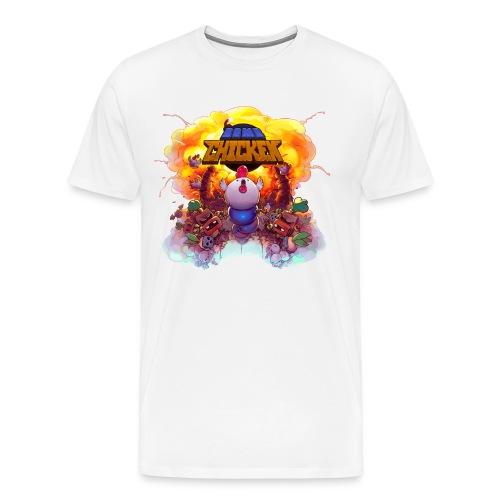 Bomb Chicken - Men's Premium T-Shirt