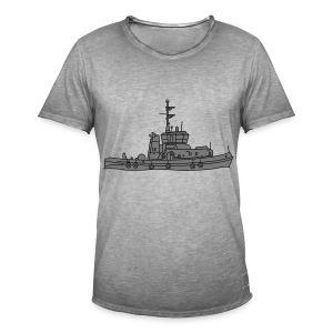 Schlepper Schleppschiff 2 - Männer Vintage T-Shirt